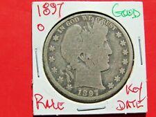 1897-O Barber Half Dollar Key date Nice Coin