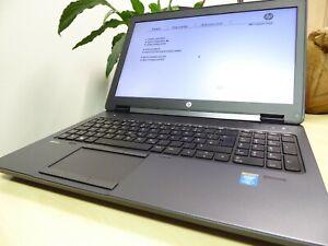 CAPTAIN NOTEBOOK: HP ZBOOK 15 CAD i7-4800MQ 16GB-RAM NVIDIA K2100M 256GB SSD WIN
