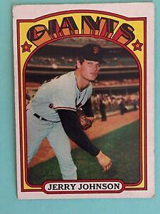 Topps 1972 #35 Jerry Johnson - San Francisco Giants