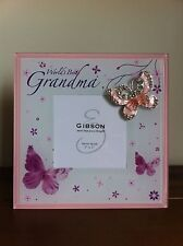World's Best Grandma Photo Frame Good Mothers Day Gift for Grandmother - Gran