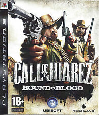 CALL OF JUAREZ BOUND IN BLOOD for Playstation 3 PS3 - with box & manual