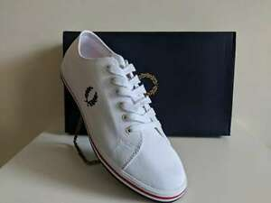 Fred Perry Kingston Twill Canvas Sneaker - Plimsoll (UK9)
