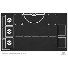 Pokemon Arena Playmat Grey Hex - Pokemon Play Mat (PL0139)