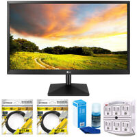 "LG 27"" Class IPS LED Monitor with FreeSync 2018 Model + Cleaning Bundle"