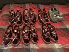 Puma X Rihanna Creepers Burgundy Red Velvet Purple Suede Women Size 9.5
