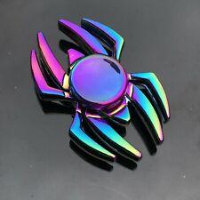 Finger Fidget Spinner Metal Hand Focus Gyro Toy Electroplate Bearing Hybrid Toys