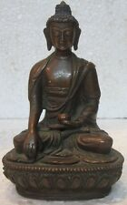 An old look copper BUDDHA traditional statue