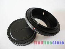 Canon FD Lens to Samsung NX mount Adapter NX5 NX10 NX11 NX20 NX300 NX1000 + CAP