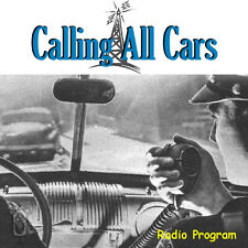 Old Time Radio Calling All Cars over 290 Episodes in MP3 on DVD