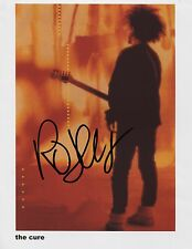 Robert Smith The  Cure SIGNED Photo 1st Generation PRINT  No'd + Certificate /1