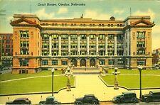 Omaha,Ne. The Court House 1942