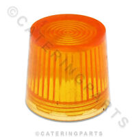 3271 VALENTINE ELECTRIC FRYER AMBER BULB ROUND LENS CAP COVER PENSION 1 2 ORANGE