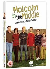 Malcolm In The Middle: Complete Season 6 - DVD NEW & SEALED       (series/sixth)