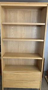 Ercol Pinter For John Lewis Oak Bookcase
