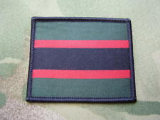 British Army Rifles Regiment Colours Combat Jacket/Shirt Sew On TRF Patch/Badge