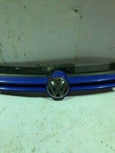 97-04 VW GOLF MK4 FRONT LOGO CENTRE GRILL BLUE 1J0853655G 1J0 853 655 G GENUINE