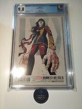 Inhumans vs X-Men IVX #5 CGC 9.8 VHTF Cho Variant Ms. Marvel Kamala Khan