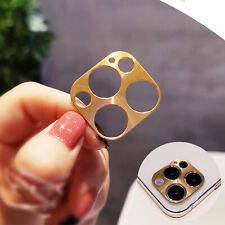 For iPhone 12 Pro/Max 12 Mini/12 Metal Ring Titanium Camera Lens Protector Cover