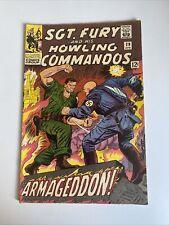 Sgt Fury and His Howling Commandos #29 April 1966 MCU VTG Comic Book
