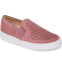VIONIC KANI PERFORATED FRENCH ROSE WOMEN SLIP ON. SIZE 6