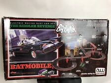 Auto World Batmobile Batman Electric Racing Slot Car Set, The Riddler Revenge