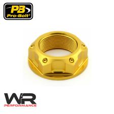 Yamaha XVZ1200TD Venture Royale 84-85 Probolt Gold Steering Stem Yoke Nut