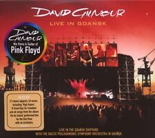 "DAVID GILMOUR ""LIVE IN GDANSK"" 2 CD NEU"