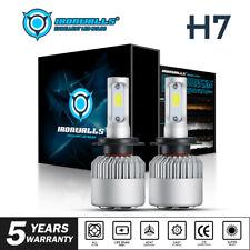 2018 CREE LED Headlight Conversion Kit H7 1500W 225000LM Light Bulbs 6000K White