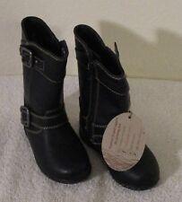 NEW BOC Rosie Toddler Infant Girls Fashion Boots 6 Black MSRP$60