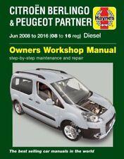Revistas, manuales y catálogos de motor haynes Peugeot