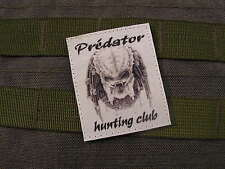 SNAKE PATCH - PREDATOR HUNTING CLUB - N/B AIRSOFT rambo ALIEN Paint Ball