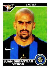Panini Calciatori 2004/05 n. 162 INTER VERON  PERFETTA DA BUSTINA!!!