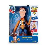 Toy Story 4 Sheriff Woody Deluxe Pull-String Talking Action Figure NEW in Box