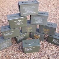 Ammo Box Ammo Can 50 Cal Grade 1 Metal Nato Box Storage Box Storage Solution
