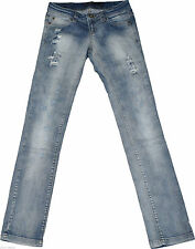 Only Ripped/frayed L32 Damen-Jeans
