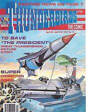 Thunderbirds #13 (4th April 1992) TV21 full colour reprint strips