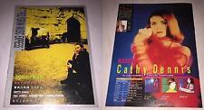 Sting Cathy Dennis Bon Jovi 1993 PolyGram Music Express Taiwan Edition Magazine