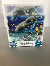 Mega Art Gallery Walrus Mother And Child Puzzle 500 pcs New  Free Ship