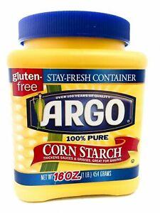 argo 100% pure corn starch 16 oz