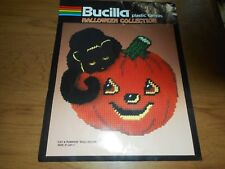 Bucilla Cat & Pumpkin Wall Decor Partial Kit