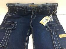 TRUE RELIGION BRAND JEANS SHORT SUPERIOR GOODS W32