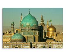 120x80cm Leinwandbild auf Keilrahmen Imam Reza Schrein Maschhad Iran