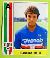 GIANLUCA VIALLI,SAMPDORIA-N.257-IL GRANDE CALCIO VALLARDI- FIGURINA STICKER -NEW