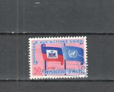 T322 - HAITI 1958 - MAZZETTA DI 5 ONU - VEDI FOTO