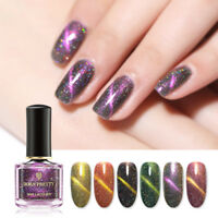 BORN PRETTY 6ml Holographicsssss Cat Eye Nail Polish Laser Nail Art Varnish
