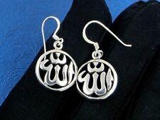 Free shipping wholesale sterling solid silver flower drop Earrings XLSE035