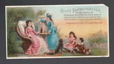 Medicine Card - Ayer's Sarsaparilla - Moderate Play