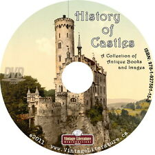 History of Castles {Vintage Architecture Military Fortresses Photos }  on DVD