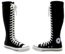 1V708 Converse Chuck Taylor All-Star XXHi Knee Hi Black White 3.5 Men 5.5 Womens