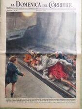 La Domenica del Corriere 3 Dicembre 1950 Incidente Ferroviario Titina De Filippo